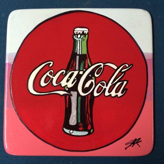 Coca Cola Ceramic Plate Unique Other by Steve Kaufman