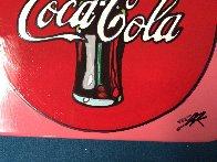 Coca Cola Ceramic Plate Unique Other by Steve Kaufman - 2
