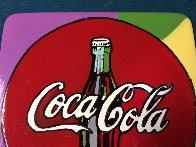Coca Cola  Ceramic Plate Unique Other by Steve Kaufman - 1