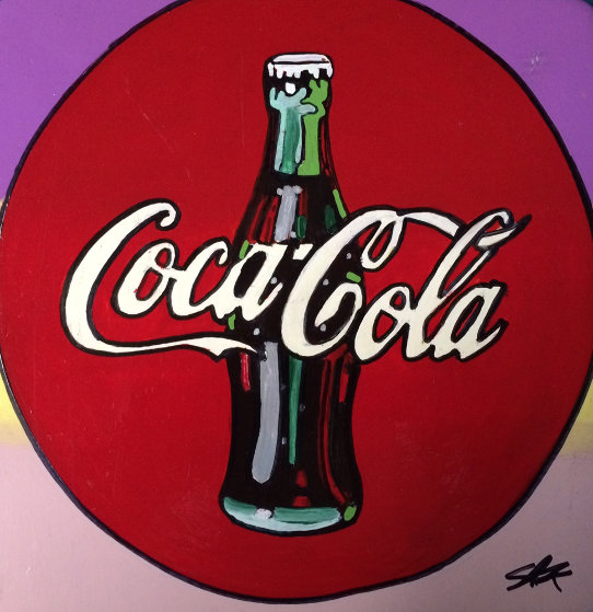 Coca Cola Ceramic Plate Unique Other by Steve Kaufman
