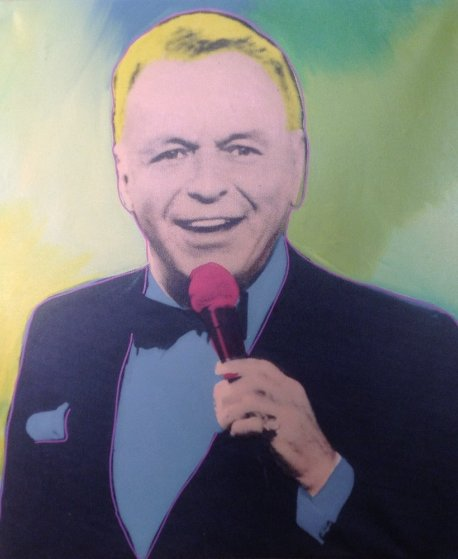 Frank Sinatra 1990 Limited Edition Print by Steve Kaufman