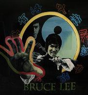 Bruce Lee 52x52 Super Huge Original Painting by Steve Kaufman - 0