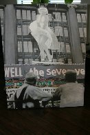 Marilyn Monroe: Seven Year Itch Embellished Limited Edition Print by Steve Kaufman - 1