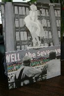 Marilyn Monroe: Seven Year Itch Embellished Limited Edition Print by Steve Kaufman - 2