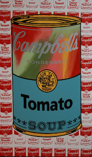Campbell's Soup Unique 51x29 Super Huge Limited Edition Print - Steve Kaufman