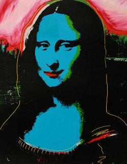 Mona Lisa PP Embellished Limited Edition Print by Steve Kaufman