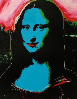Mona Lisa PP Embellished Limited Edition Print by Steve Kaufman