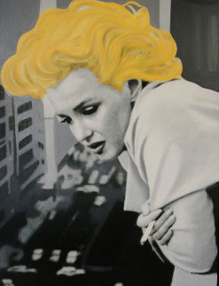 Marilyn Monroe- 5th Ave Nyc 48x38 Original Painting by Steve Kaufman