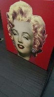 Marilyn Monroe (Red)  Limited Edition Print by Steve Kaufman - 2