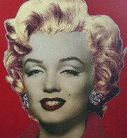 Marilyn Monroe (Red)  Limited Edition Print by Steve Kaufman - 0