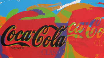 Coca Cola PP 2002  Limited Edition Print by Steve Kaufman