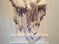 Aurora Resin Sculpture 1990 53 in Sculpture by Emily Kaufman - 3