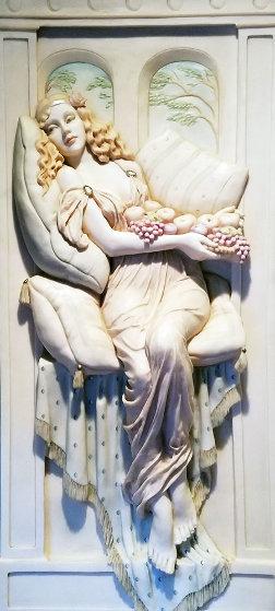 Aurora Resin Sculpture 1990 53 in Sculpture by Emily Kaufman