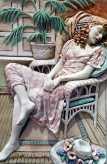 Untitled Ceramic Sculpture 1985  44 in Huge  Sculpture - Emily Kaufman
