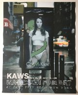 Calvin Klein Exhibition Gallery Poster (Christy Turlington) 2000 Other by  KAWS - 1