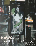 Calvin Klein Exhibition Gallery Poster (Christy Turlington) 2000 Other by  KAWS - 0