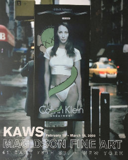 Calvin Klein Exhibition Gallery Poster (Christy Turlington) 2000 Other -  KAWS