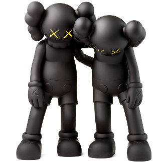 Along the Way Vinyl Sculpture 2018 12 in - Set of 2  11 in Sculpture -  KAWS