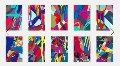 Tension Portfolio of 10 Pcs Limited Edition Print -  KAWS