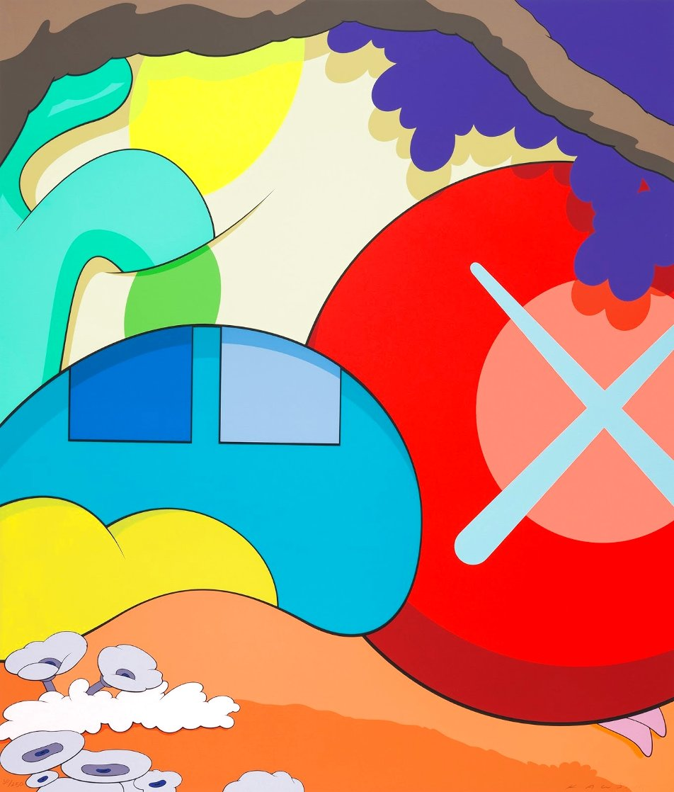 You Should Know I Know 2015 Limited Edition Print by  KAWS