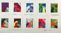 Urge, Set of 10 Prints PP 2020 Limited Edition Print by  KAWS - 8
