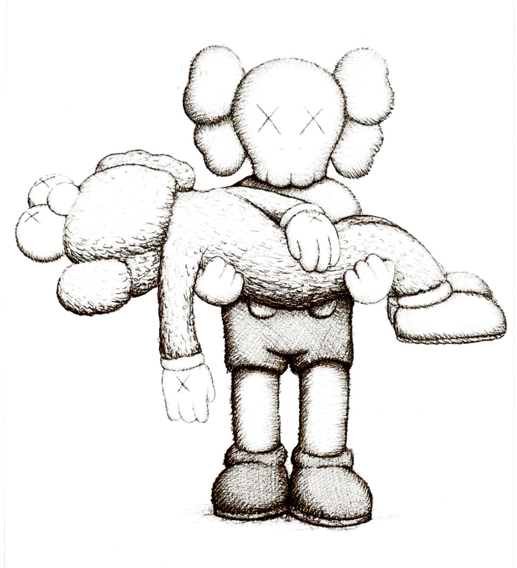 Companionship 2019 Limited Edition Print by  KAWS