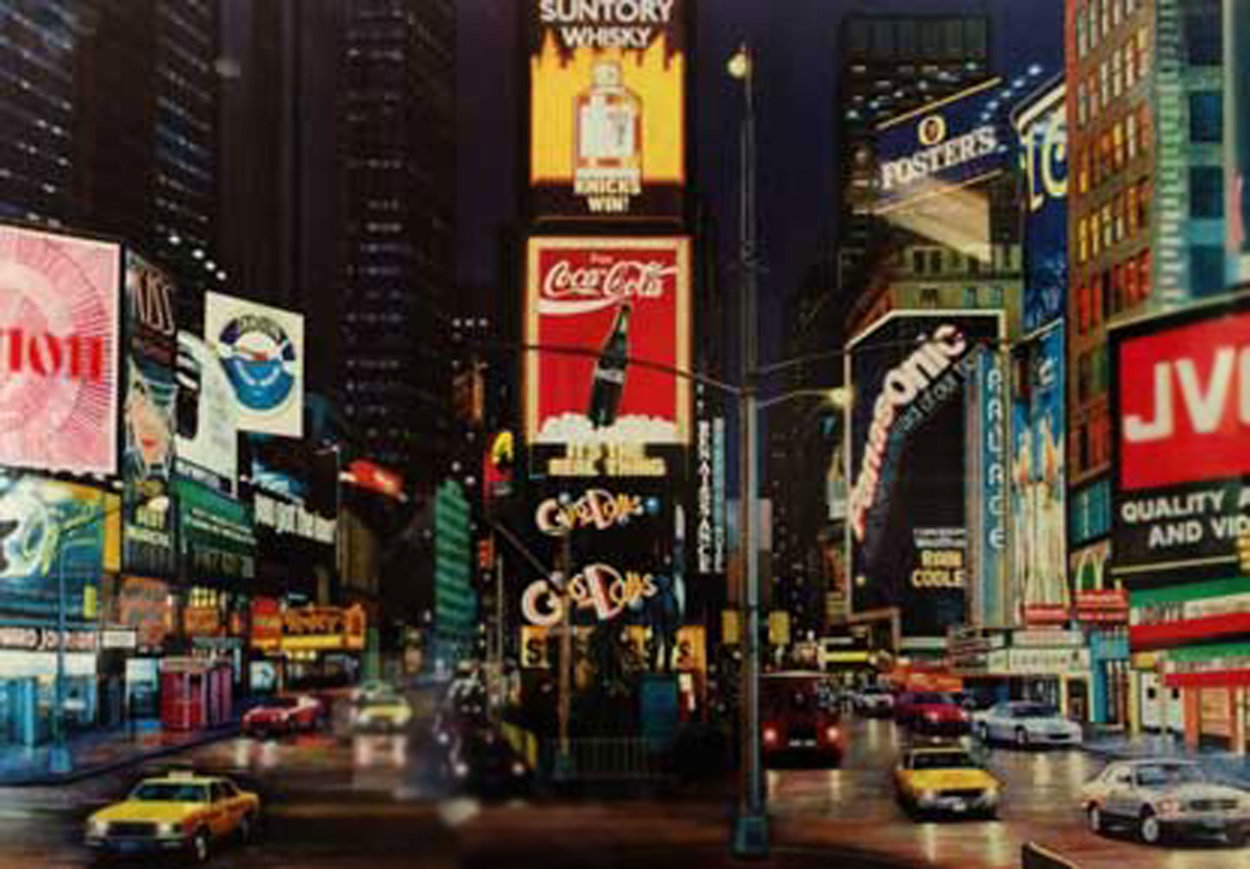 Times Square, The Way It Is AP 1996 Limited Edition Print by Ken Keeley