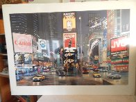 Times Square Night - Way It is AP 1995 Limited Edition Print by Ken Keeley - 1