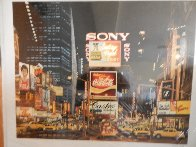 Times Square Change Scene 1995 Limited Edition Print by Ken Keeley - 1