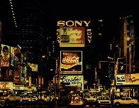 Times Square Change Scene 1995 Limited Edition Print by Ken Keeley - 0