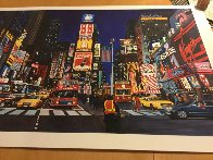 Times Square At Night AP Limited Edition Print by Ken Keeley - 1