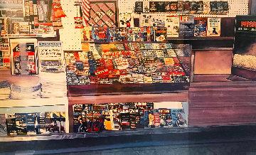 Newstand 1st Artist Version  Embellished Limited Edition Print by Ken Keeley
