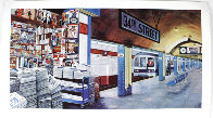 My Underground: 34th St Station Limited Edition Print by Ken Keeley - 1