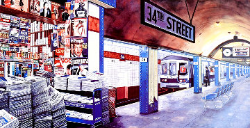 My Underground: 34th St Station Limited Edition Print - Ken Keeley