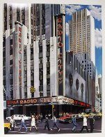 Radio City Music Hall, New York AP Limited Edition Print by Ken Keeley - 1