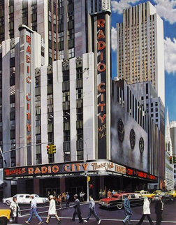 Radio City Music Hall, New York AP Limited Edition Print by Ken Keeley