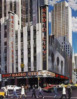 Radio City Music Hall, New York AP Limited Edition Print - Ken Keeley