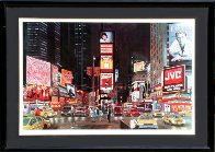 Times Square Night, New York Limited Edition Print by Ken Keeley - 1