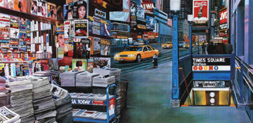 Times Square Station, New York AP Limited Edition Print by Ken Keeley