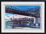 59th Street Bridge, New York 43x57 Super Huge Limited Edition Print by Ken Keeley - 1