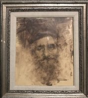 Study of an Old Man 17x12 Works on Paper (not prints) by Ramon Kelley - 2