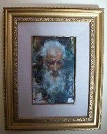 Senor Pedro, Taos 21x17 Original Painting by Ramon Kelley - 1