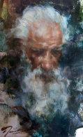 Senor Pedro, Taos 21x17 Original Painting by Ramon Kelley - 0