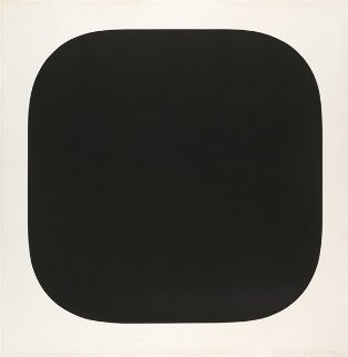 Black Variation 4 1975 Limited Edition Print by Ellsworth Kelly
