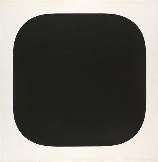 Black Variation 4 1975 Limited Edition Print - Ellsworth Kelly