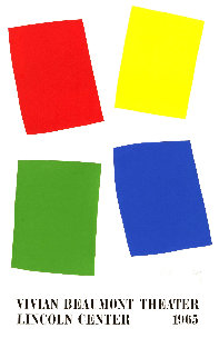 Vivian Beaumont Theater, Lincoln Center 1987 Limited Edition Print by Ellsworth Kelly