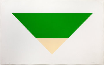 Green / White 1970 Limited Edition Print by Ellsworth Kelly