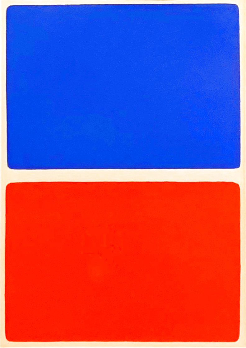 Blocks 1966 Limited Edition Print by Ellsworth Kelly