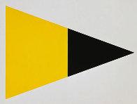 Black Yellow 1972 Limited Edition Print by Ellsworth Kelly - 0