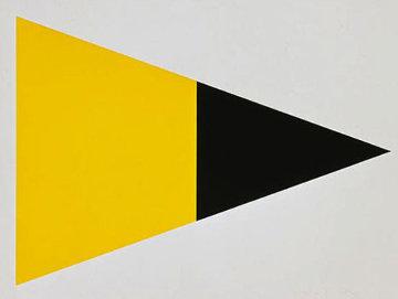 Black Yellow 1972 Limited Edition Print by Ellsworth Kelly